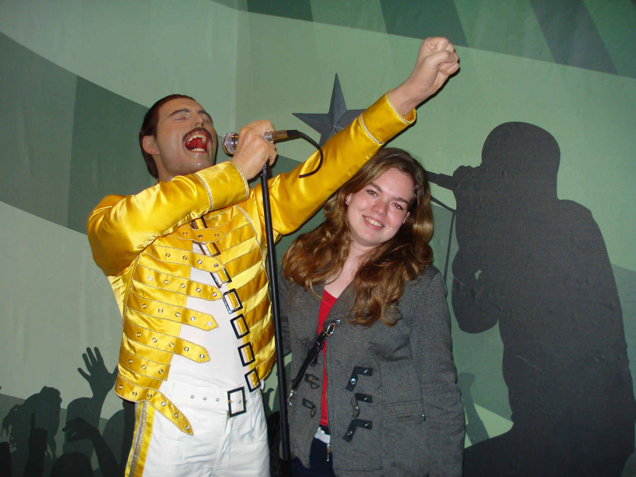 Freddy, Madame Tussauds Amsterdam