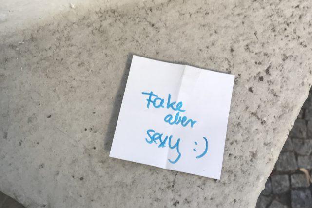 FAKE ABER SEXY-NOTE
